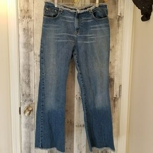 Frayed Express Flare Jeans 13/14